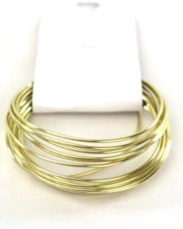 Aludraht Hobbydraht, gold, 1,5  mm breit, 3 m Rolle - corona-pandemiebedarf, aludraht