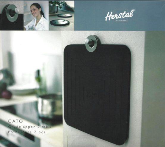 Silikon-Topflappen CATO von Herstal, 2er Set - geschenke