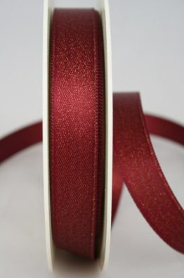 Dekoband Weihnachten_15mm_Satin_bordeaux-gold_(96515-15-027)