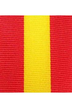 Dekoband Spanien, 25 mm - nationalbander