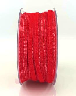 Gummiband/Elastikband für Mund-Nasen-Masken - rot - elastikband, corona-pandemiebedarf
