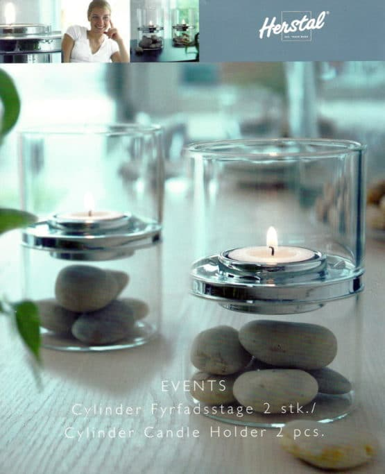 Teelichthalter Events von Herstal, 2er Set - geschenke