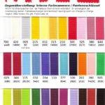 Farben nach Pantone-System -