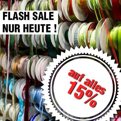 Flash Sale 15% -