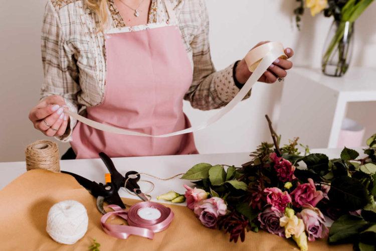 Satinbänder sind für Floristen unverzichtbar - satinband, floristik