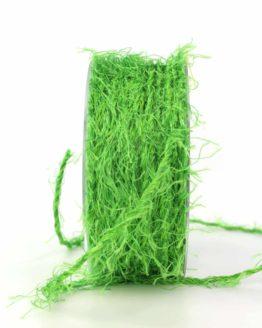 Fransenkordel, grün, 3 mm stark - zierkordeln, andere-baender