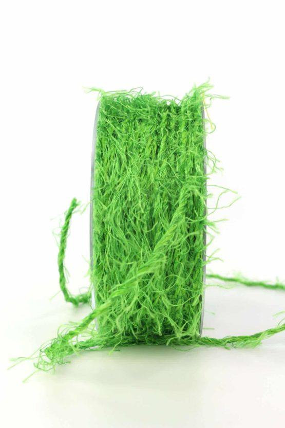 Fransenkordel, grün, 3 mm stark - zierkordeln, dekobaender-fruehjahr, andere-baender
