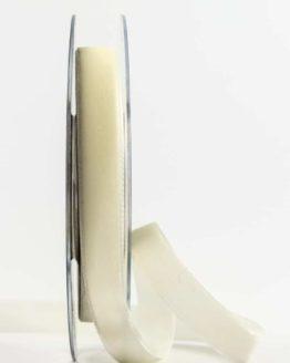 Samtband, creme, 15 mm breit - schleifenband-hochzeit, samtbaender, geschenkbaender, geschenkband-fuer-anlaesse, anlaesse-geschenkband-fuer-anlaesse