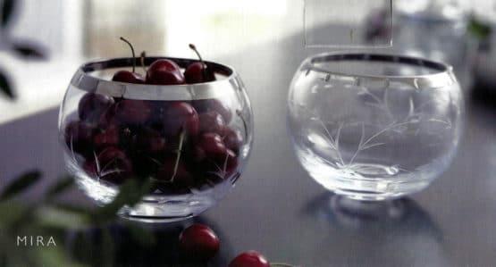 Glasschale MIRA von Herstal, 2er Set - geschenke