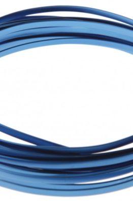 Hobbydraht Aludraht flach blau 3624_39