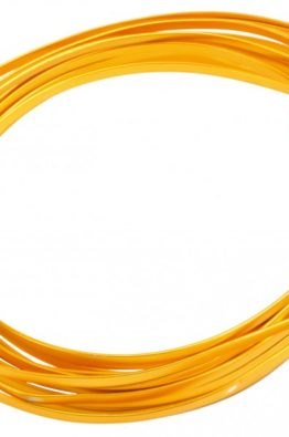 Hobbydraht Aludraht flach gold 3624_3