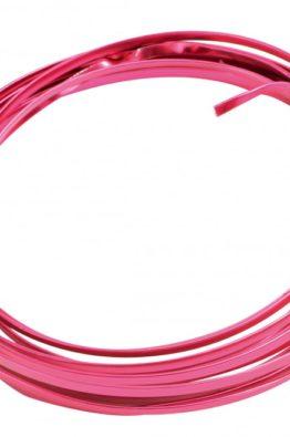 Hobbydraht Aludraht flach pink 3624_15
