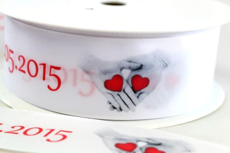 Individuelle Bänder für Deine Hochzeit - personalisierte-bander, hochzeitsdekoration, armbaender