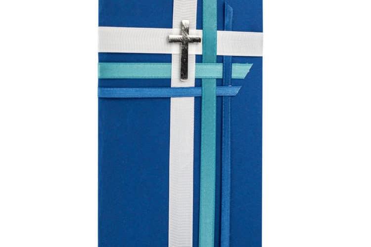 Tolle Einladungskarten für Kommunion, Konfirmation und Taufe selbst gemacht - kommunion, basteltipps