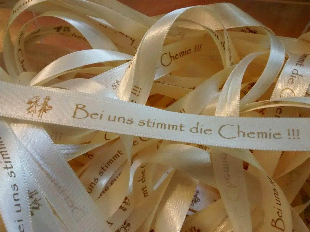 Individuelle Hochzeitsbänder nach Ihrer Idee bedruckt - satinband, personalisierte-bander
