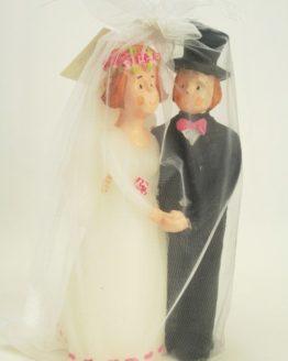 Dekokerze Brautpaar - hochzeitsaccessoires