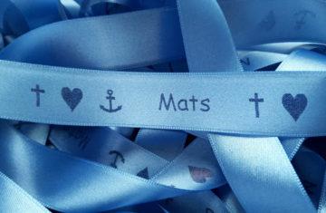 Mit bedruckten Bändern gelingt eine wunderbare Erstkommunionfeier - personalisierte-bander, kommunion