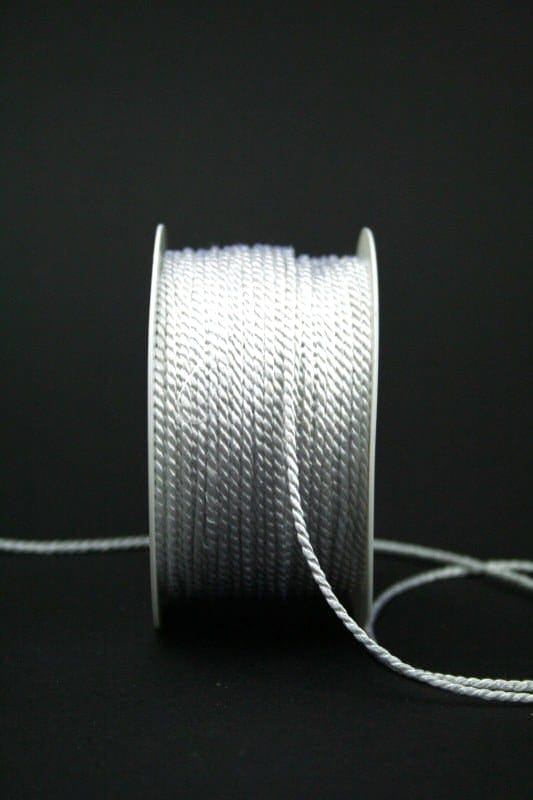 Kordel weiß, 2mm stark - hochzeitsbaender