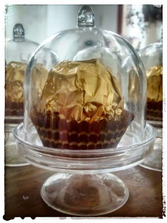 Mini-Kuchenglocke für Gastgeschenke, 4 St. Pack - hochzeitsaccessoires