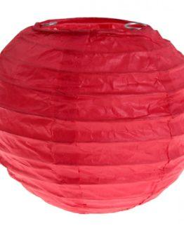 Lampion aus Papier, rot, ca. 10 cm, 2 Stück - lampions