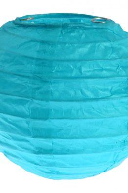 Lampion tuerkis blau 10 cm 4311_8