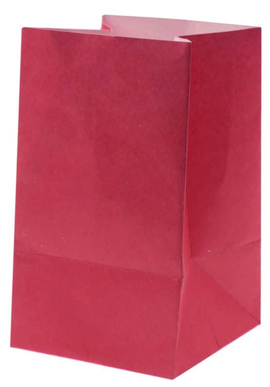 Lichttüte pink, 6 x 10 cm, 6 St. - hochzeitsaccessoires