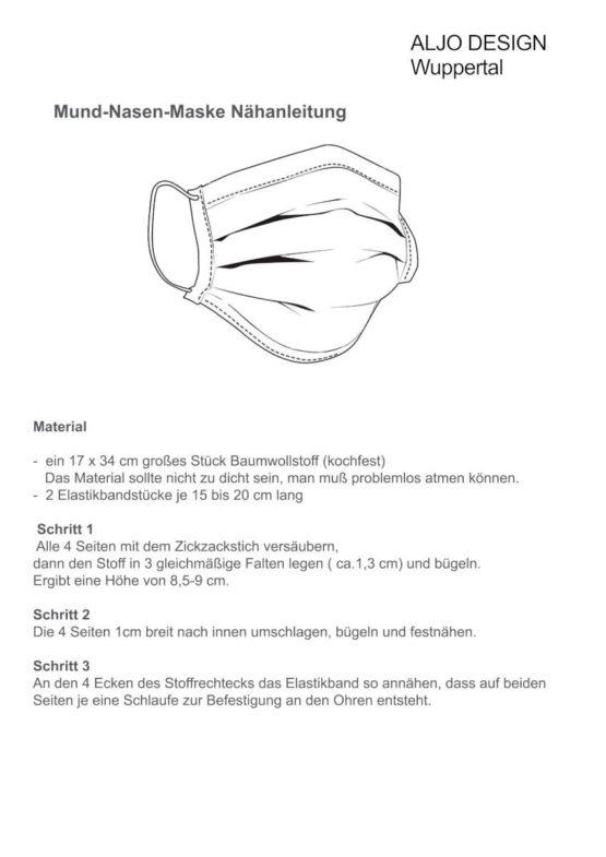 Gummiband/Elastikband für Mund-Nasen-Masken - schwarz - elastikband, corona-pandemiebedarf