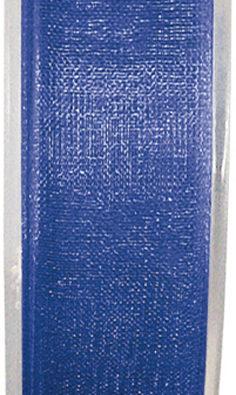 Organzaband 7mm koenigsblau BUDGET (2558_47)
