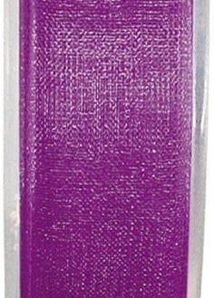 Organzaband lila, 7  mm breit, BUDGET - organzabaender, organzaband-budget