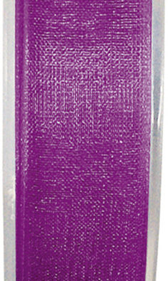 Organzaband 7mm lila BUDGET (2558_35)