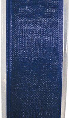 Organzaband 7mm marineblau BUDGET (2558_44)