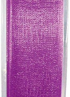 Organzaband pflaume, 7  mm breit, BUDGET - organzabaender, organzaband-budget, hochzeitsbaender