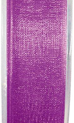 Organzaband 7mm pflaume BUDGET (2558_17)