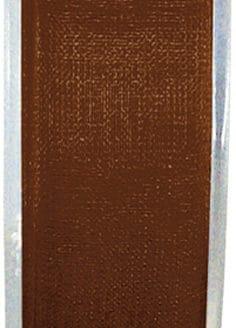 Organzaband schokobraun, 7  mm breit, BUDGET - organzaband-budget, organzabaender