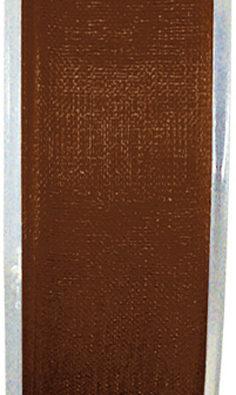 Organzaband 7mm schokolade BUDGET(2558_123)