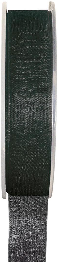 Organzaband schwarz, 7  mm breit, BUDGET - organzabaender, organzaband-budget