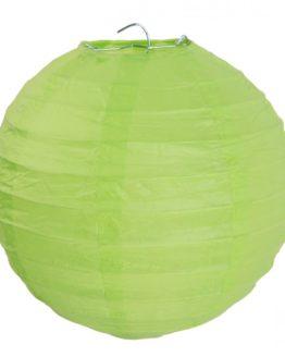 Papierlampion, grün, ca. 30 cm, 2 Stück - lampions