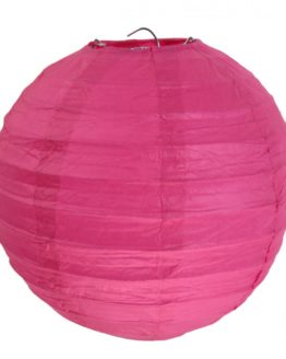 Papierlampion, pink, ca. 30 cm, 2 Stück - lampions