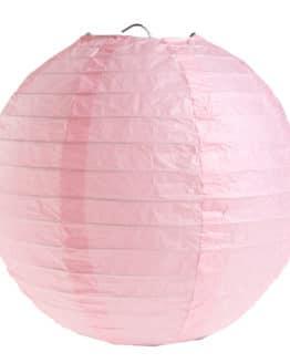 Papierlampion, rosa, ca. 30 cm, 2 Stück - lampions