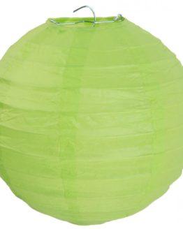 Papierlampion XL, grün, ca. 50 cm - lampions