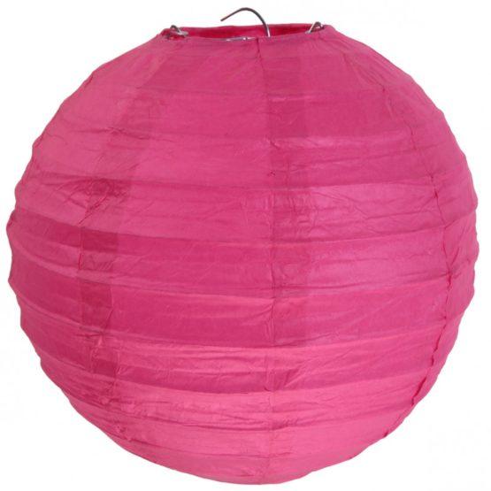 Papierlampion XL, pink, ca. 50 cm - lampions