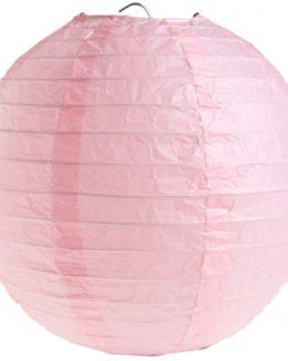 Papierlampion XL, rosa, ca. 50 cm - lampions