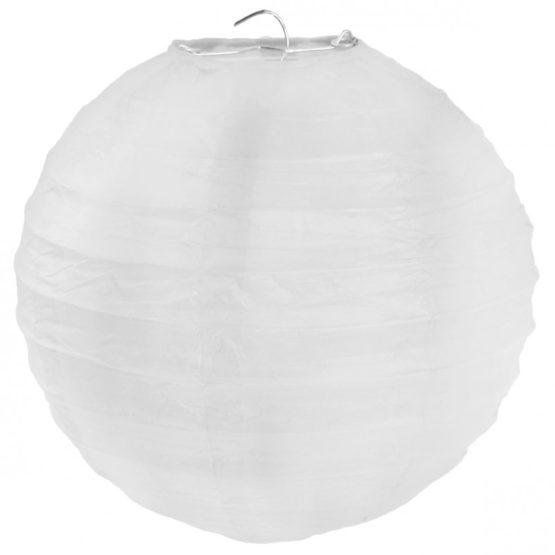Papierlampion XL, weiß, ca. 50 cm - lampions