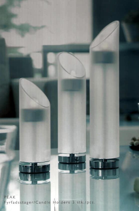 Teelichthalter PEAK von Herstal, 3er Set - geschenke
