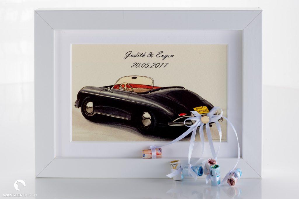 Geldgeschenke zur Hochzeit originell verpacken - geschenkverpackung, basteltipps
