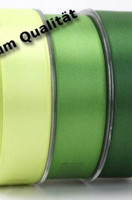 Premium Doppelsatinband 25mm extra weich
