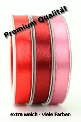 Premium-Doppelsatinband guenstig - viele Farben