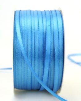Satinband 3mm, uni aqua - sonderangebot, satinband-budget, satinband