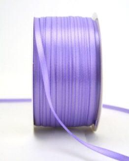 Satinband 3mm, uni flieder - sonderangebot, satinband-budget, satinband