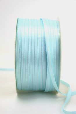 Satinband 3mm hellblau Low Budget (4031903-03-153)